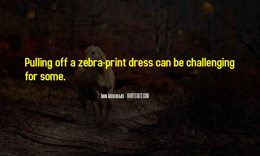 Quotes About Zebras #69348