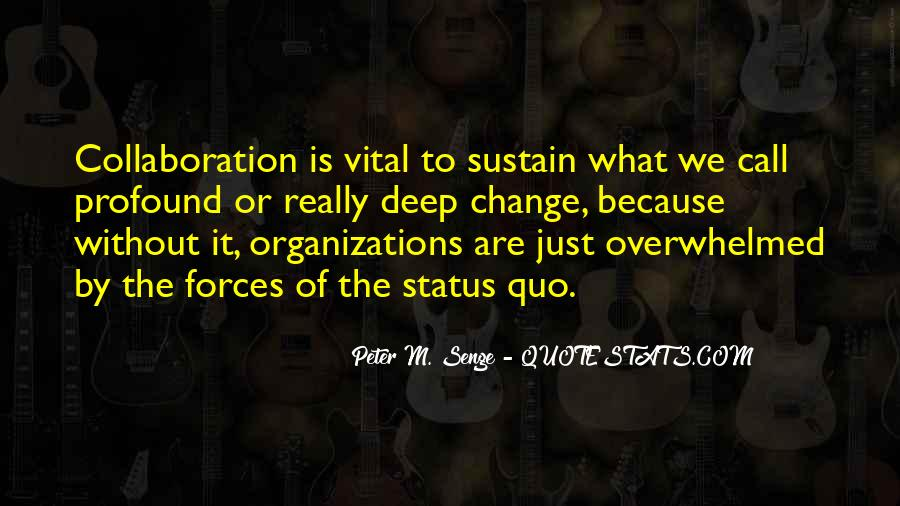 Quotes About Change Status #112731