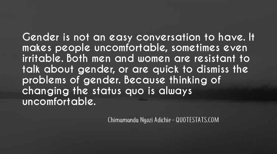 Quotes About Change Status #1145948