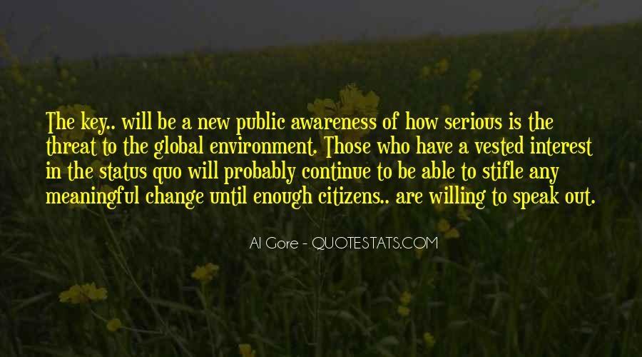 Quotes About Change Status #1265683