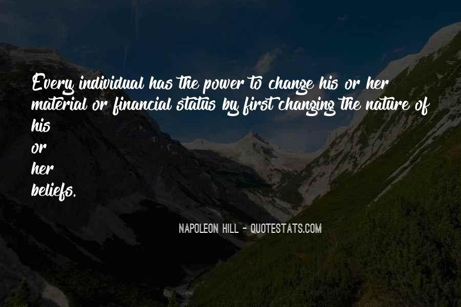 Quotes About Change Status #1309156