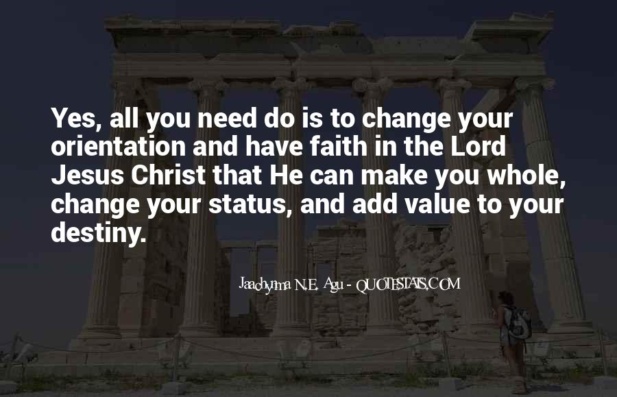 Quotes About Change Status #1333470