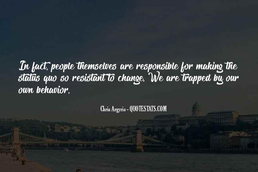 Quotes About Change Status #1414794