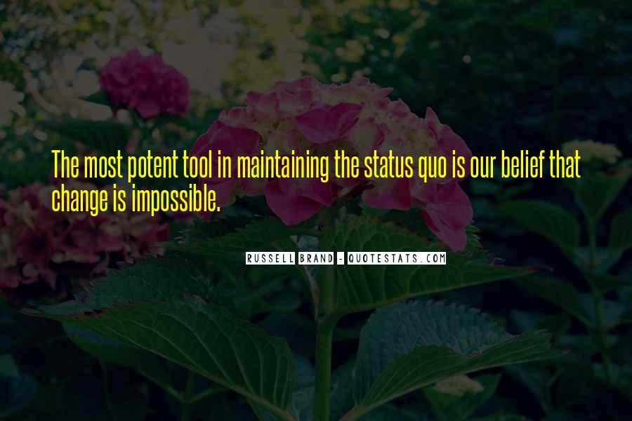 Quotes About Change Status #1547739