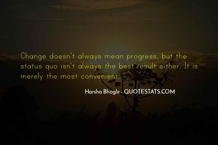Quotes About Change Status #1589459