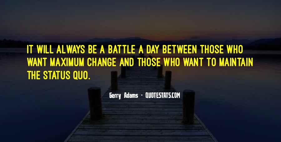 Quotes About Change Status #1625965