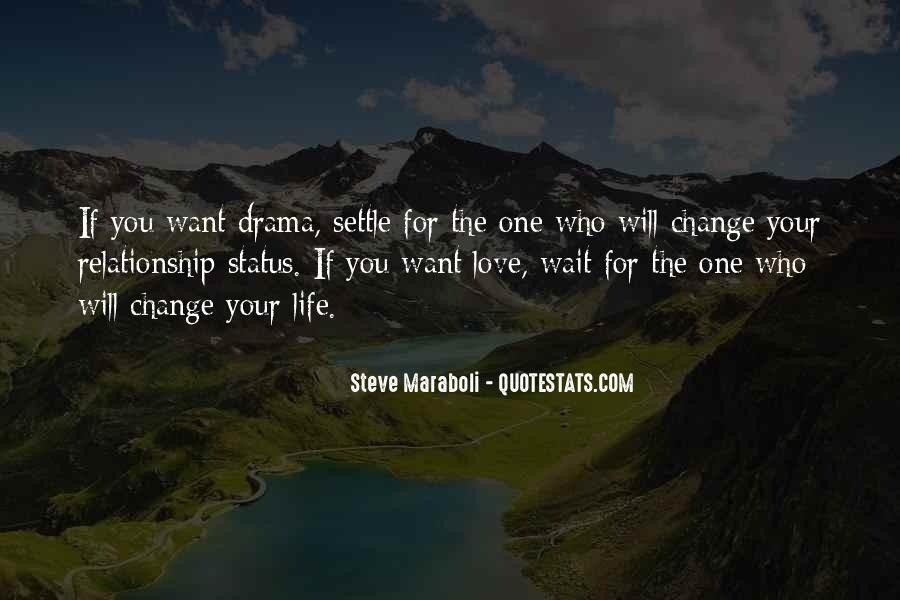 Quotes About Change Status #232076