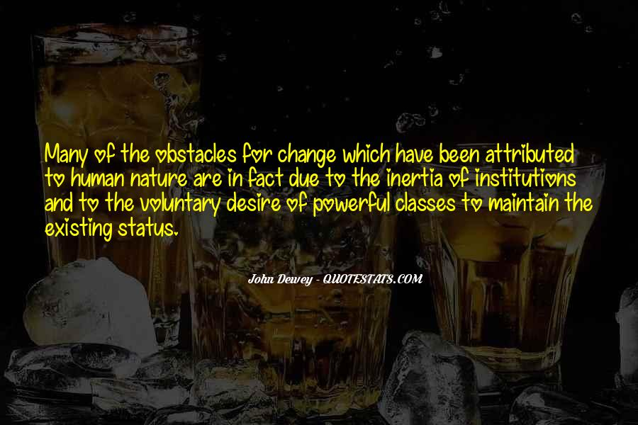 Quotes About Change Status #604867