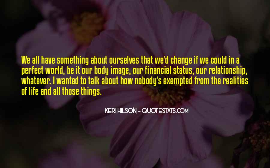 Quotes About Change Status #689567