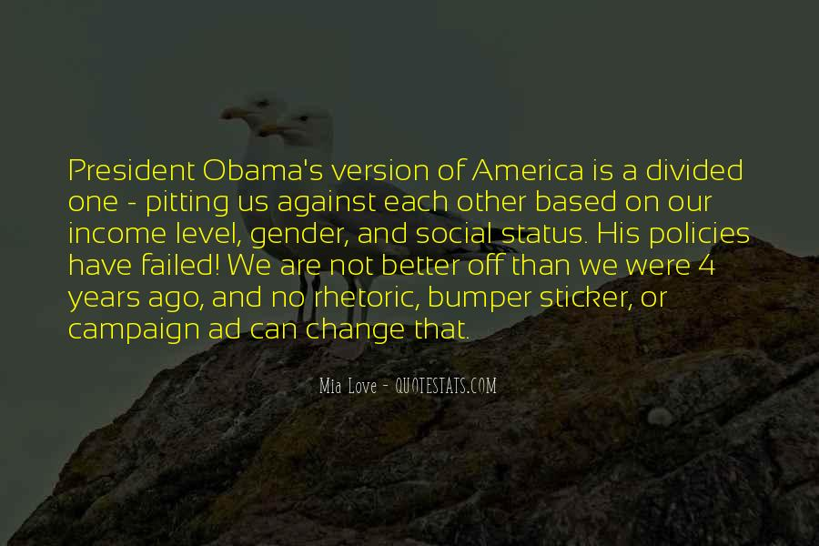 Quotes About Change Status #724663