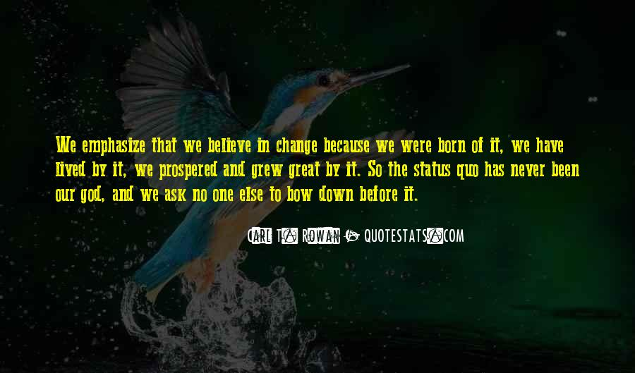 Quotes About Change Status #85177