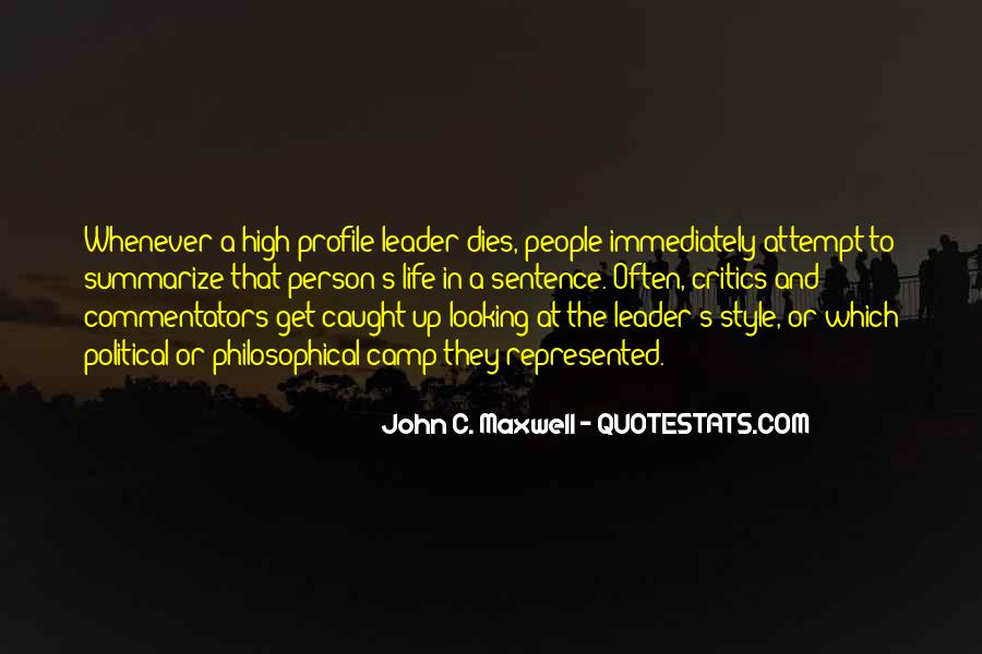 Quotes About Life Profile #564585