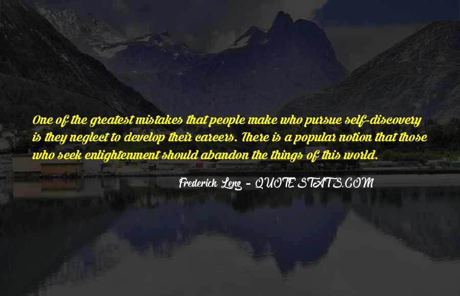 Quotes About Self Enlightenment #174855