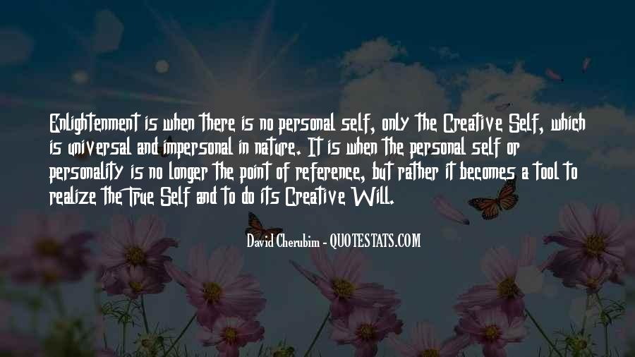 Quotes About Self Enlightenment #23636
