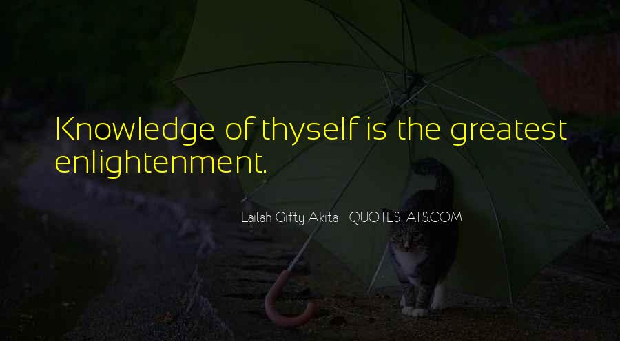 Quotes About Self Enlightenment #892621