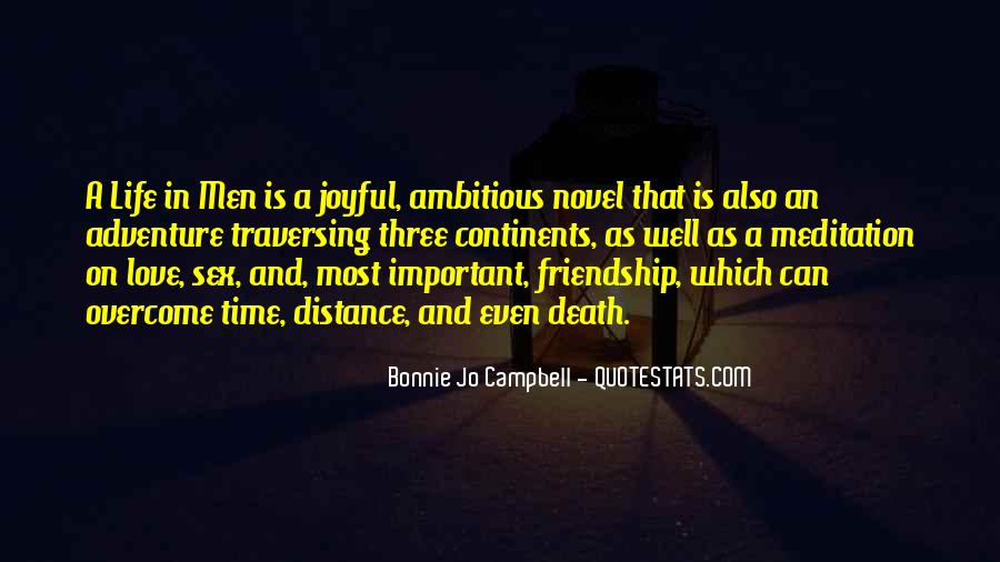 Quotes About Time Distance And Friendship #1162535