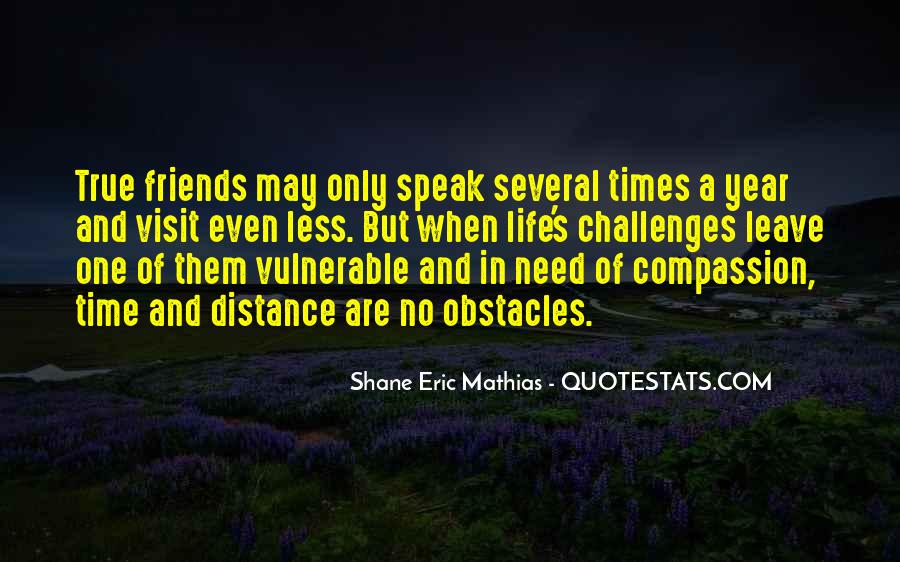 Quotes About Time Distance And Friendship #119491