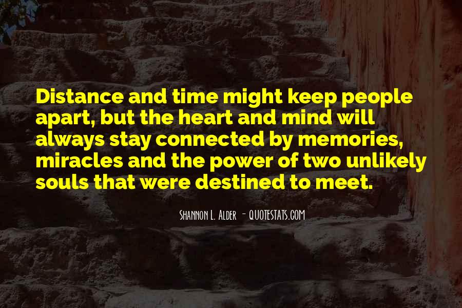 Quotes About Time Distance And Friendship #409469