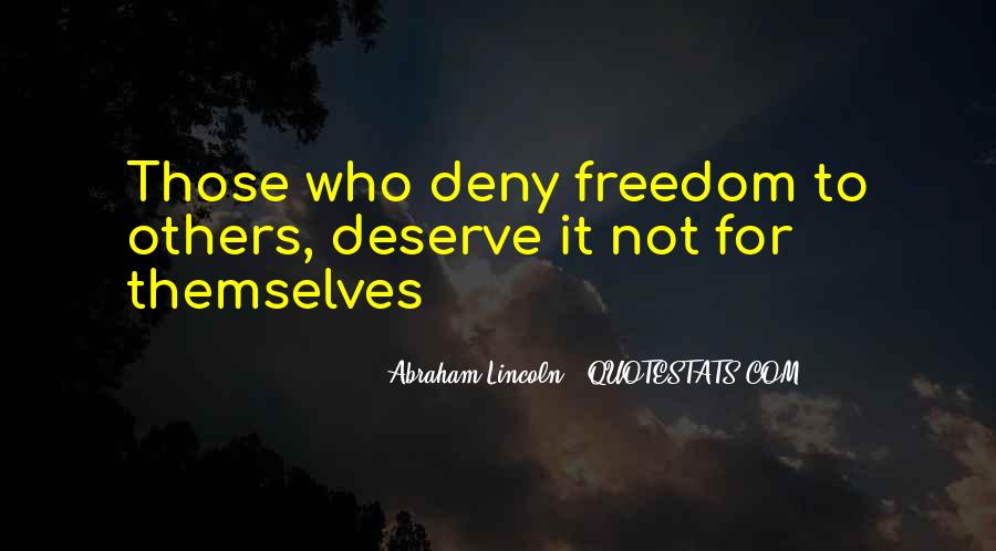 Quotes About Slavery Lincoln #1376918