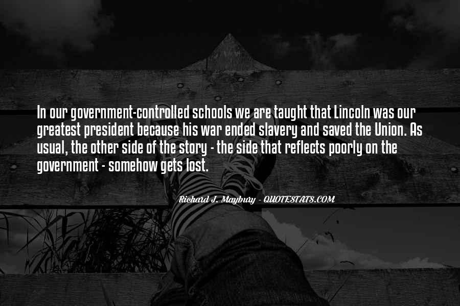 Quotes About Slavery Lincoln #1482057