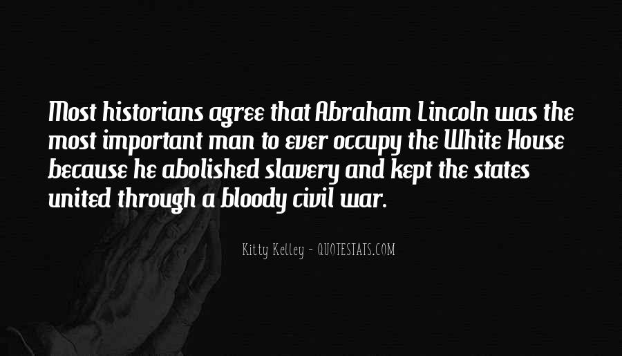 Quotes About Slavery Lincoln #310479