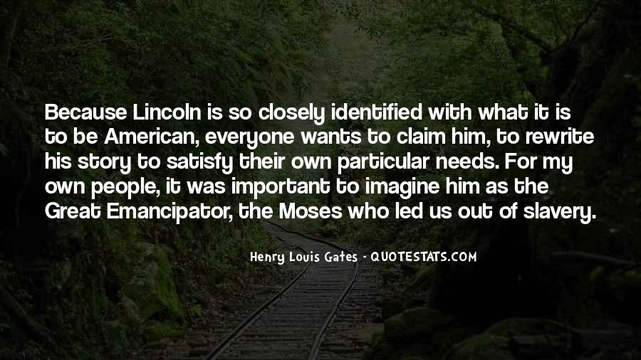 Quotes About Slavery Lincoln #696411