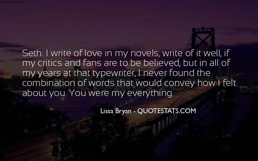 Quotes About Love Stories #135911