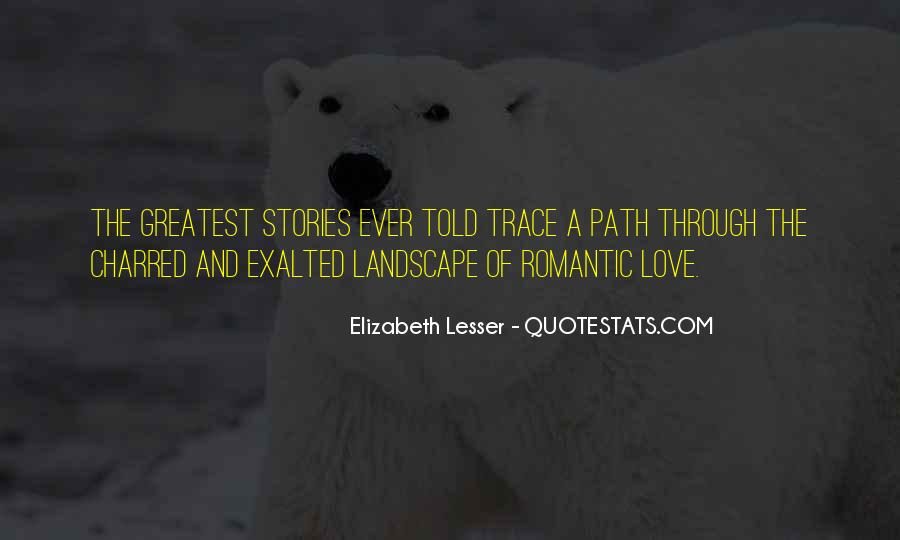 Quotes About Love Stories #174536