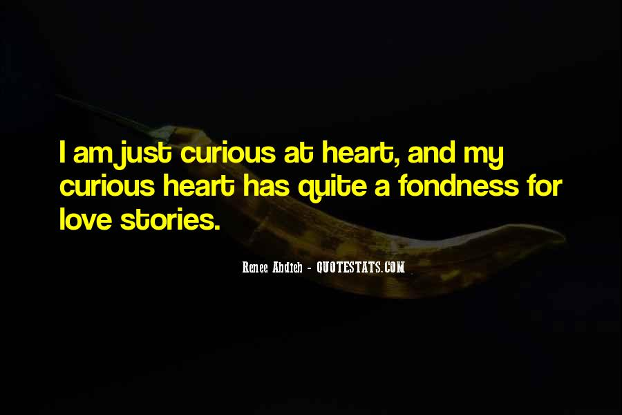 Quotes About Love Stories #181302
