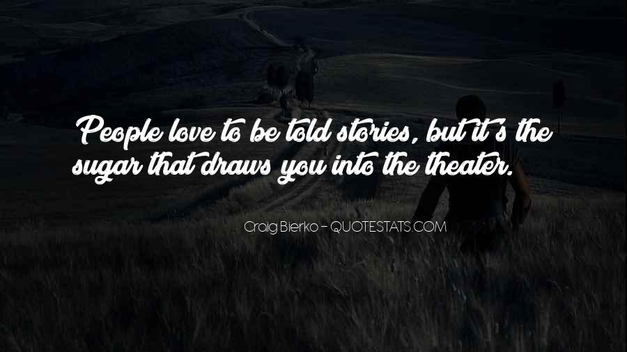 Quotes About Love Stories #78657