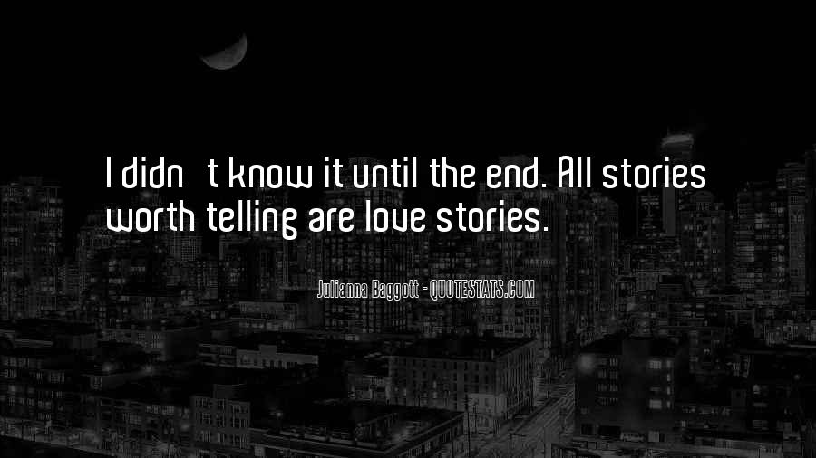 Quotes About Love Stories #83423