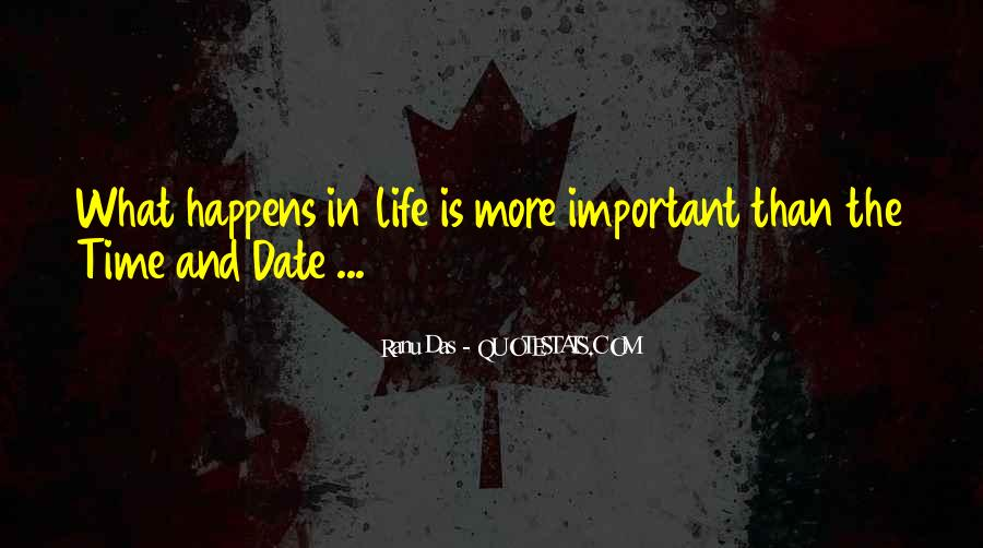 Quotes About Time And Life #11279