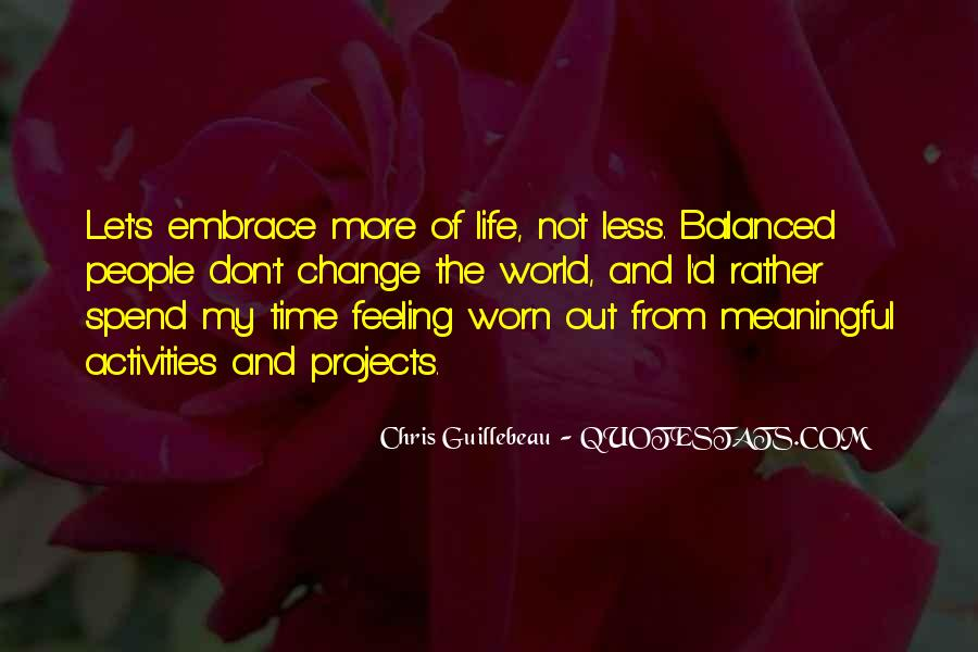 Quotes About Time And Life #13345