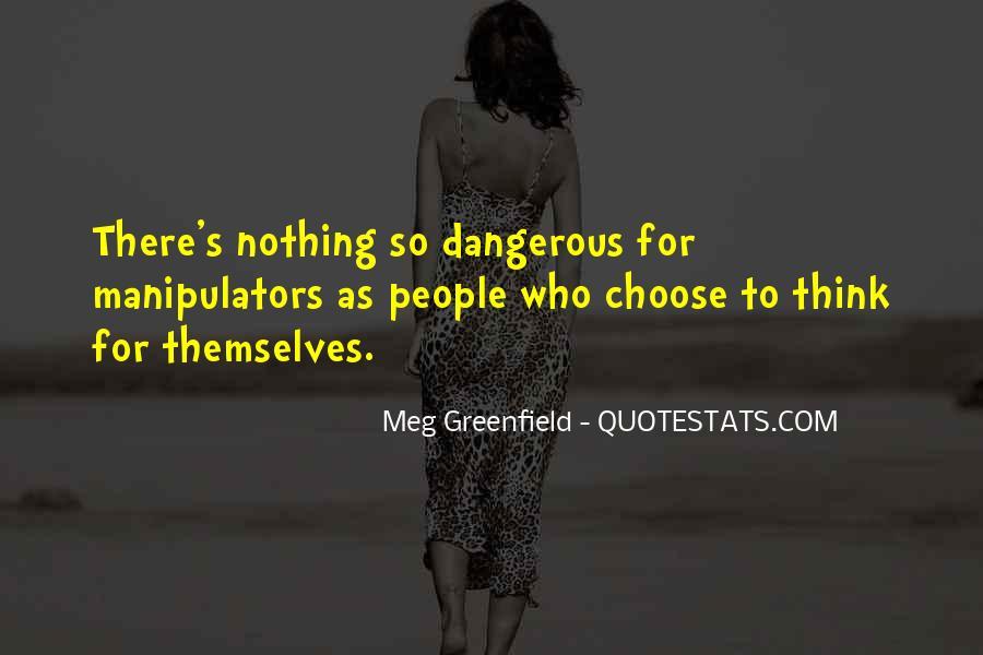 Quotes About Manipulators #25148