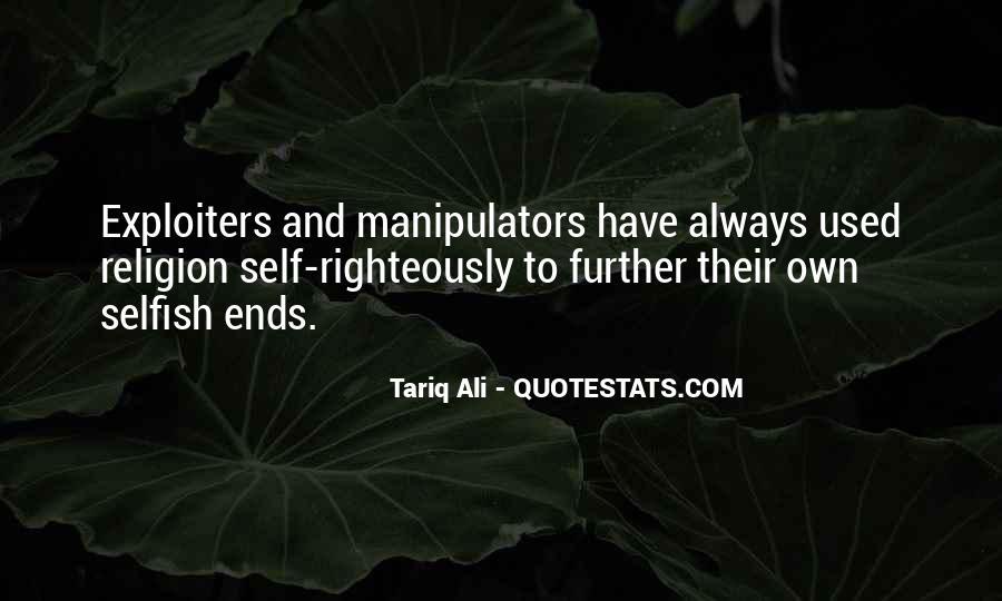 Quotes About Manipulators #275663