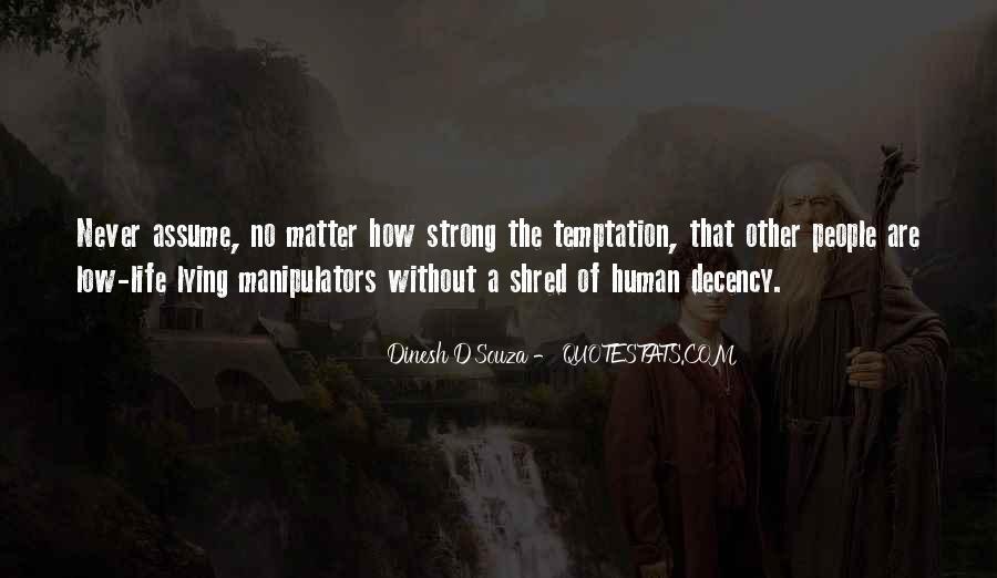 Quotes About Manipulators #500293