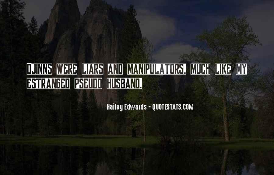 Quotes About Manipulators #528327