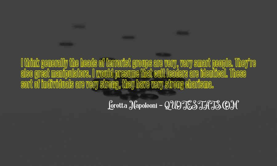 Quotes About Manipulators #761188