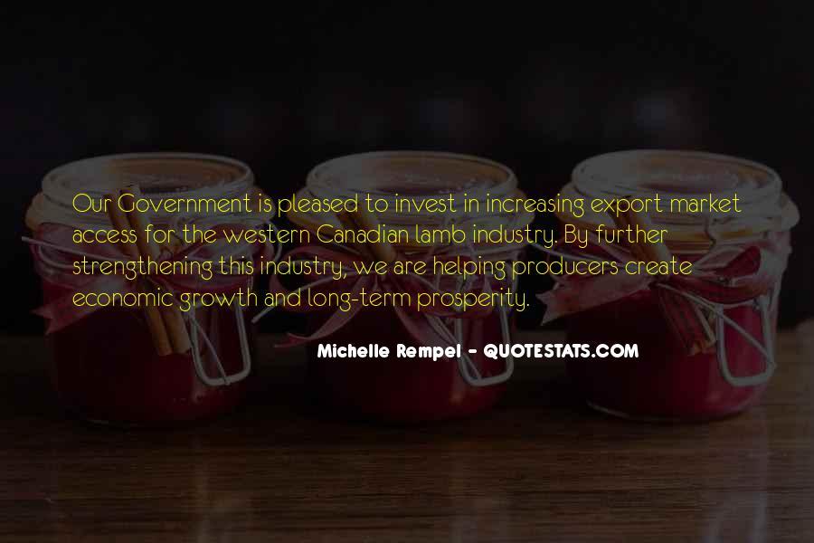 Quotes About Economic Prosperity #1020107
