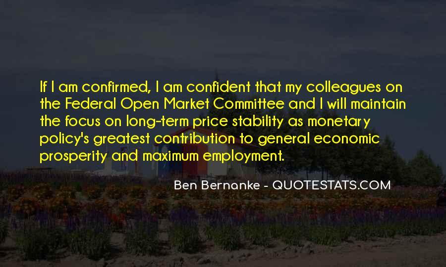Quotes About Economic Prosperity #1062033