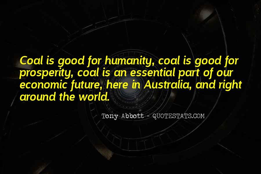 Quotes About Economic Prosperity #1064421