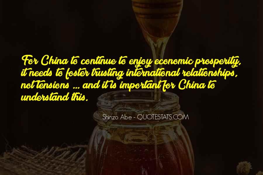 Quotes About Economic Prosperity #1252473
