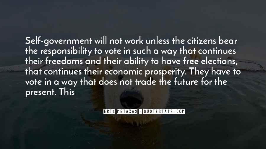 Quotes About Economic Prosperity #128350