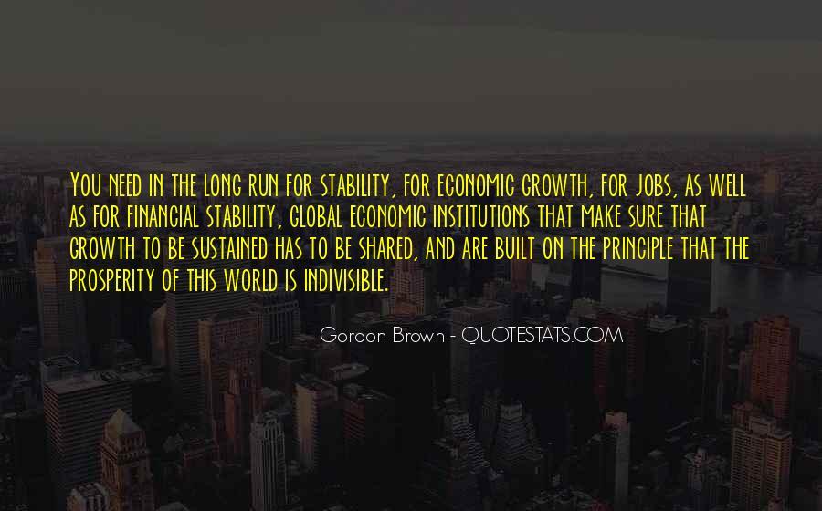 Quotes About Economic Prosperity #1295761