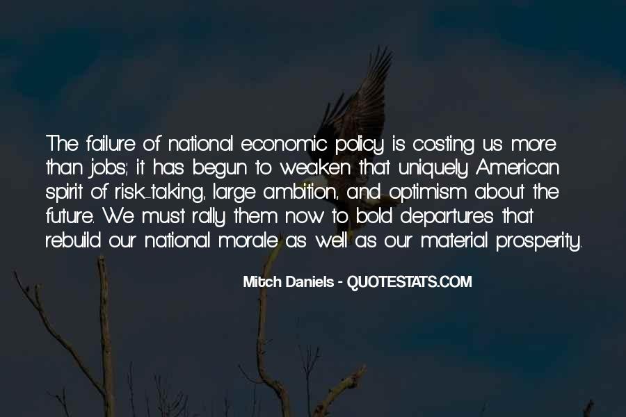 Quotes About Economic Prosperity #1304606
