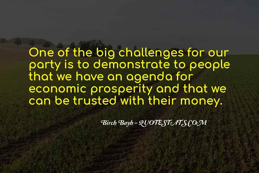 Quotes About Economic Prosperity #1314981