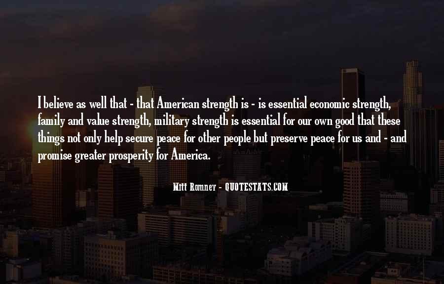 Quotes About Economic Prosperity #1395604