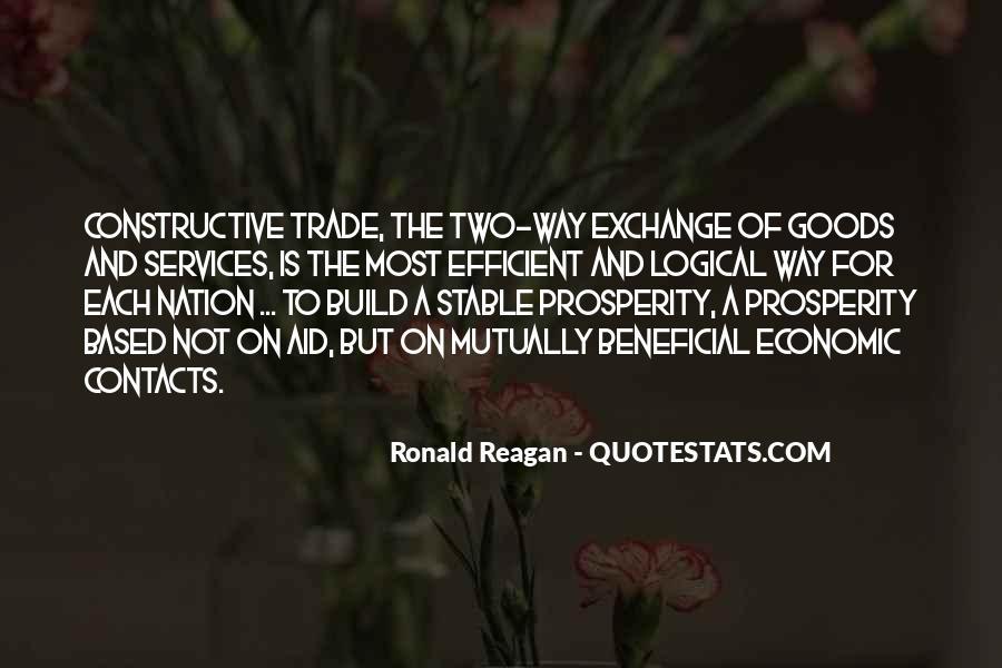 Quotes About Economic Prosperity #1425840