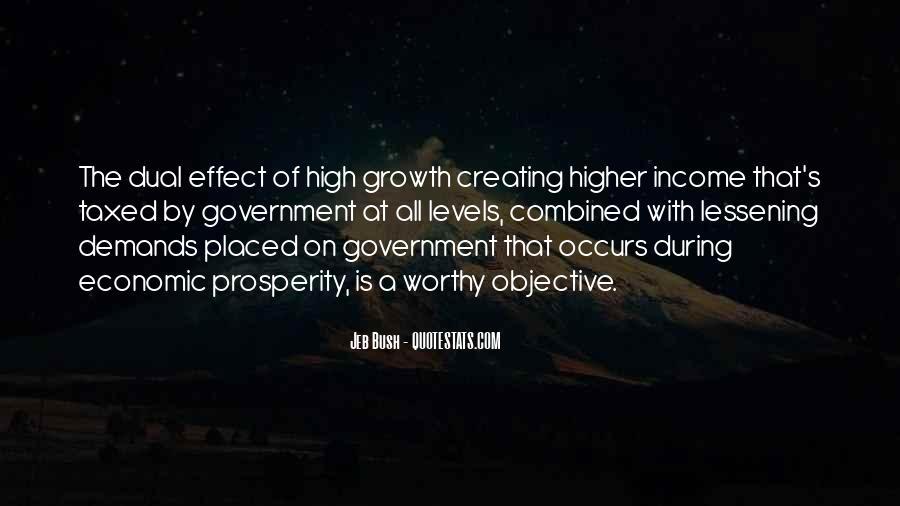 Quotes About Economic Prosperity #1426380