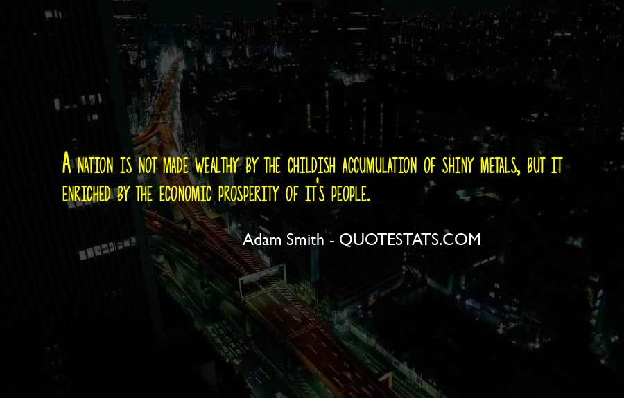 Quotes About Economic Prosperity #1459831
